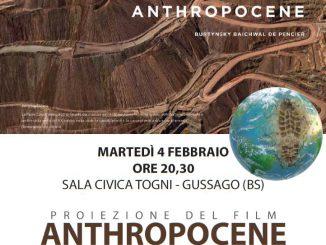 Proiezione film Anthopocene febbraio 2020