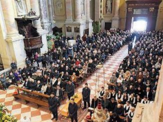 Funerale Domenico Archetti febbraio 2020