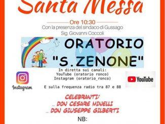 Santa Messa online Ronco aprile 2020