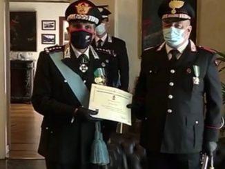 Carabinieri Gussago premiati giugno 2020
