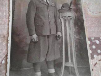Giovane Alpino gussaghese, anni 30