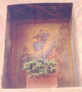 Madonna dei 7 dolori. Via Stretta a Gussago