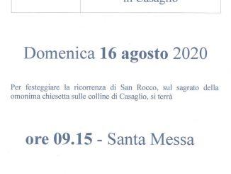 Festa San Rocco agosto 2020