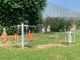Parco giochi Corcione agosto 2020