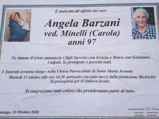 Necrologio Angela Barzani 2020