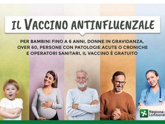 Campagna vaccinazione antinfluenzale novembre 2020