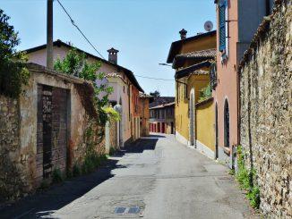 Via Roma ex officina Cichìno MENA e Gino Raineri agosto 2020