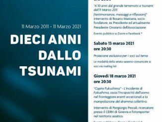 Dieci anni tsunami kaki tree marzo 2021