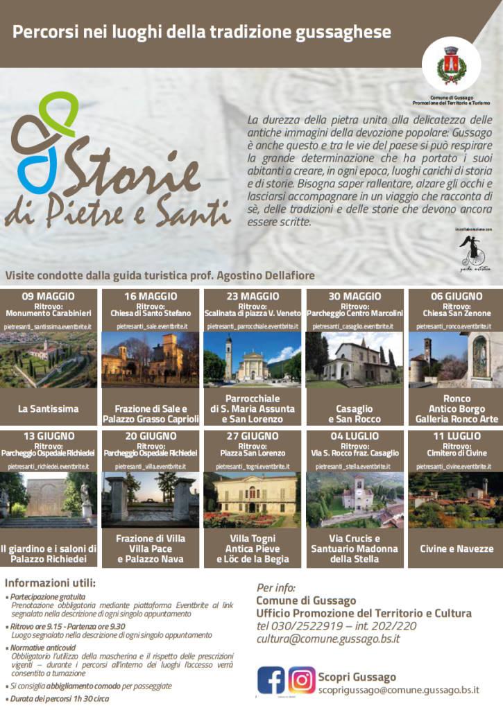 Storie pietre santi aprile 2021
