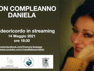 Buon compleanno Daniela Dessì maggio 2021