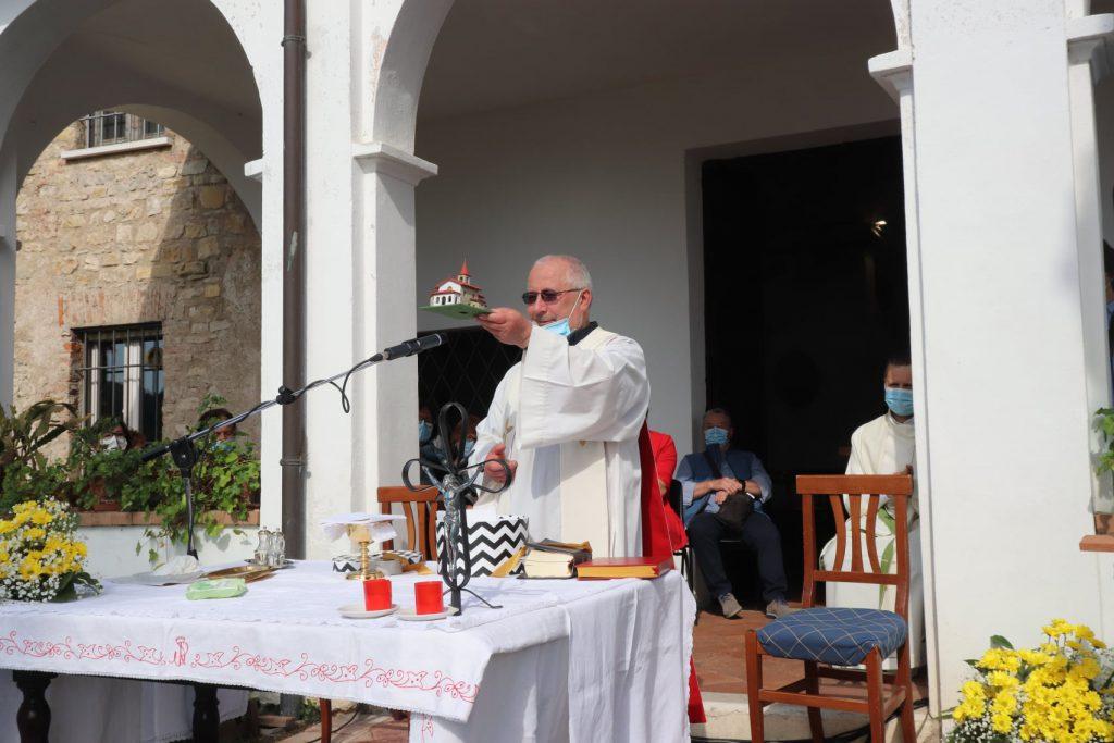Fotogallery ultima celebrazione don Adriano Dabellani san Rocco maggio 2021