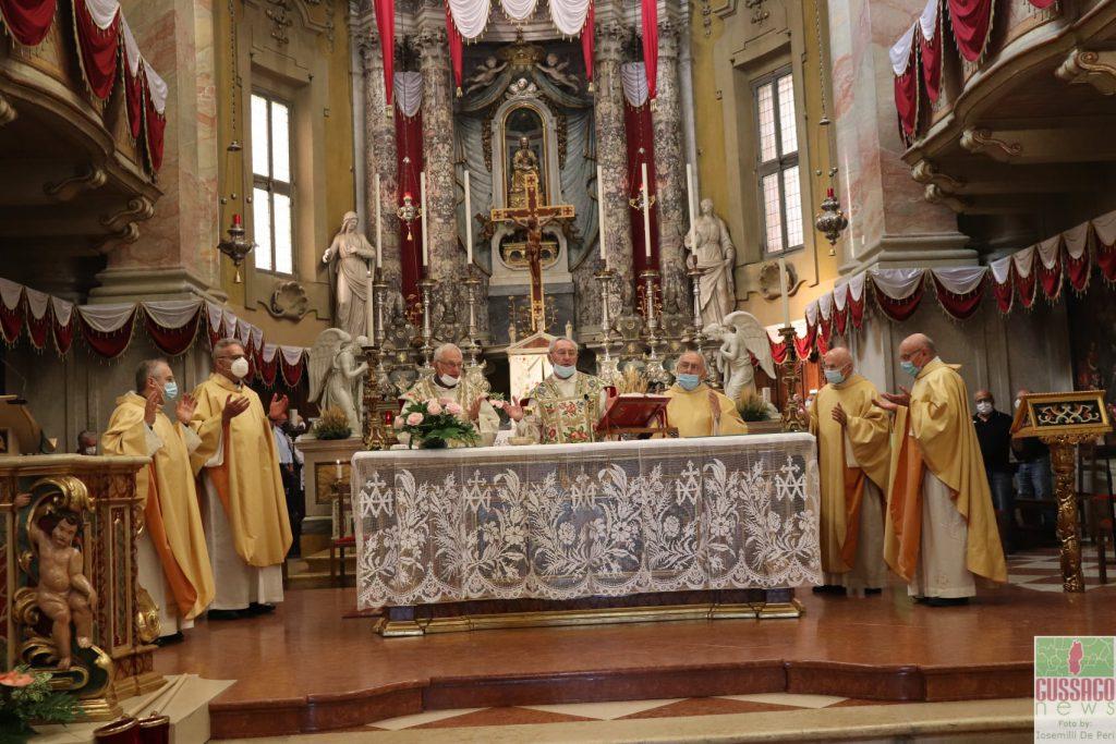 Fotogallery 50^ anniversario ordinazione sacerdotale don Cesare Minelli don Angelo Gozio giugno 2021