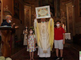 Fotogallery festa a Civine per il 50° anniversario di ordinazione sacerdotale di don Angelo Gozio giugno 2021