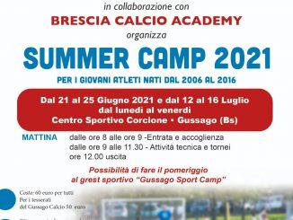 Summer camp Gussago Calcio 2021