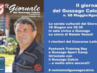 banner Giornale Gussago Calcio numero 68 maggio-agosto 2021