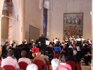 Fotogallery concerto Coro Calliope Suoni voci rinascere arie suoni speranza luglio 2021
