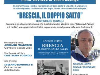 """Presentazione libro """"Brescia, il doppio salto"""" agosto 2021"""