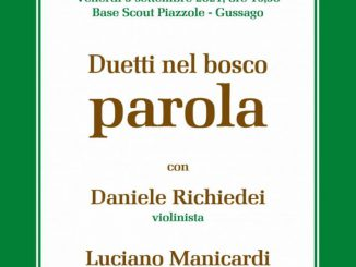 Duetti nel bosco Piazzole settembre 2021