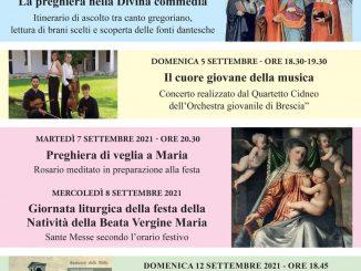 Festa Santuario Madonna Stella settembre 2021