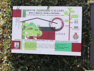 """Fotogallery """"Garden House Gallery Arte e Natura, forza e bellezza"""" settembre 2021"""