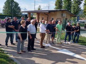 Inaugurazione ciclodromo agosto 2021