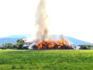 Incendio El Vaquero settembre 2021