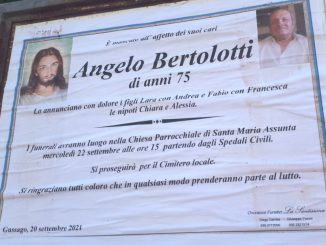 Necrologio Angelo Bertolotti 2021