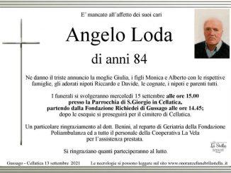 Necrologio Angelo Loda 2021