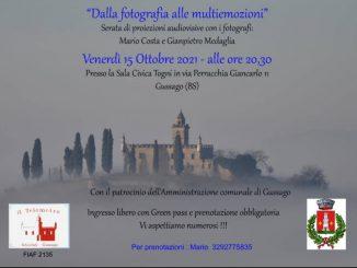 Proiezioni fotografia multiemozioni ottobre 2021