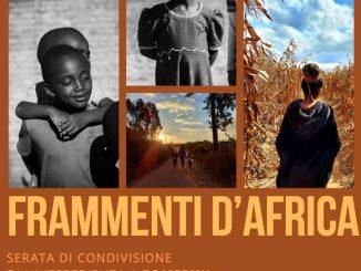 Frammenti d'Africa ottobre 2021